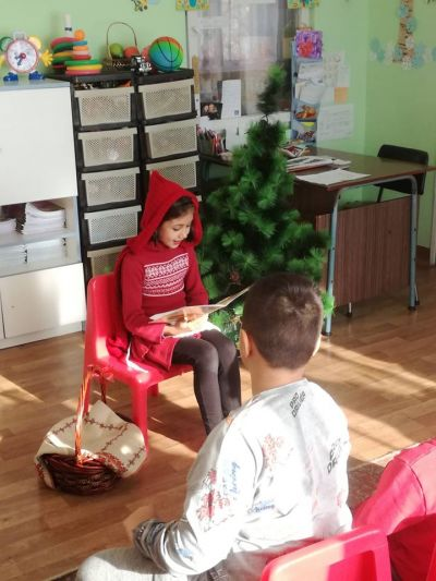 Червената шапчица - СУ Петко Росен - Бургас