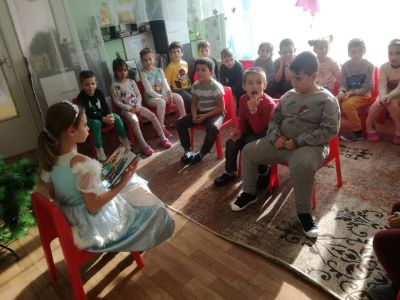 Национална седмица на четенето  - СУ Петко Росен - Бургас
