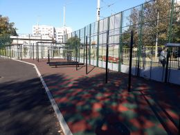 Спортни игрища - СУ Петко Росен - Бургас