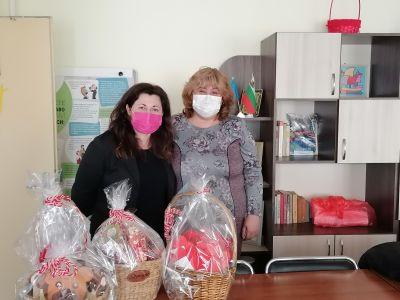 """Инициатива на четвъртокласниците от СУ """"Петко Росен"""" - гр. Бургас по повод """"Баба Марта"""" 3"""