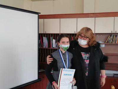 """Поредни поводи за гордост с възпитаниците на СУ """"Петко Росен""""  град Бургас 1"""
