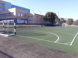Спортни игрища и фитнес зона - СУ Петко Росен - Бургас